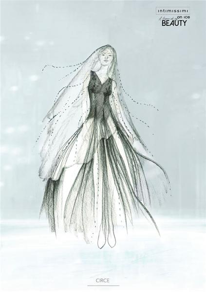 而首次担任舞台服装设计师的chiara则由她最熟悉的社交媒体instagram