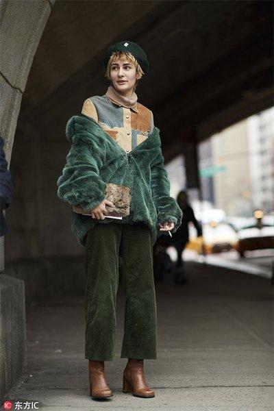2018秋冬纽约时装周街拍Day2