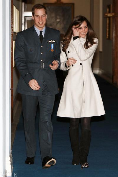 凯特王妃36岁了 重温她与威廉王子的恩爱瞬间