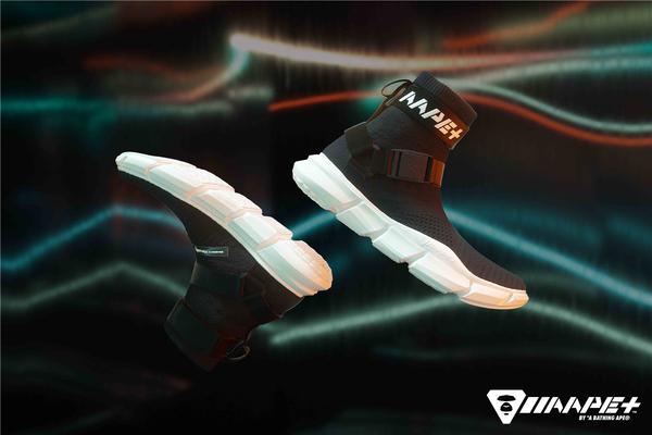 AAPE+ BY A BATHING APE? 首个鞋款系列正式登场展于全球知名球鞋展 Sneaker Con上海站率先亮相