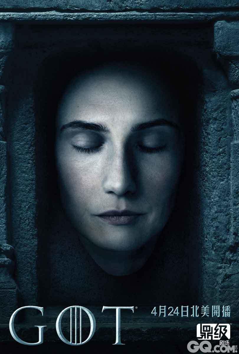 """琳娜·海蒂(Lena Headey)扮演的瑟曦王后(Cersei Baratheon)曾说过""""在权力的游戏中,要么生要么死,没有中间地带。""""在该剧第六季公布的这组全新海报中,也生动体现了瑟曦的这番话——所有角色都成了""""死人"""",无论这个角色在剧中活着还是已经死掉了,同时这也让人想起了剧中的那句名言:凡人终将一死。"""