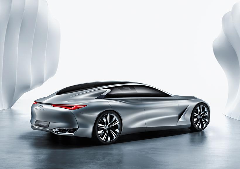 Q80 Inspiration为英菲尼迪公司先前推出的概念运动轿跑车型,修长的车身以及名为Fastback Sedan的类Coupe造型让它看起来十分的动感。