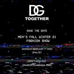 Dolce&Gabbana 杜嘉班纳 FW 2021/22 Men's Show