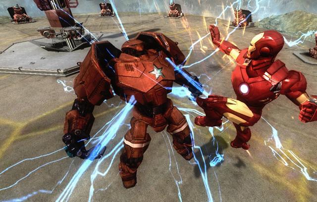 NO.1钢铁侠 《钢铁侠》电影在2008年上映以来就取得了轰动的效应,5.8 亿美金的票房也体现了这个超级IP 的实力。电影的大火带动了很多延伸的产业,从玩具到游戏,都吸引着无数的漫威迷们。世嘉改编的《钢铁侠》游戏就会其中的一款延伸品。不过由于画面一般、动作生硬,所以没有起到很大的轰动效应。