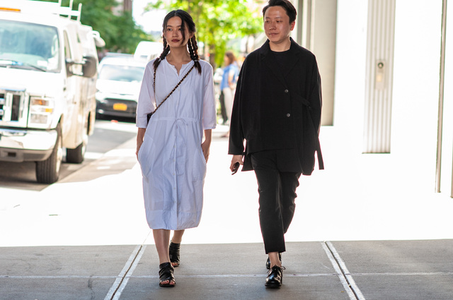 2019年6月纽约男装周街拍DAY2
