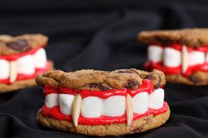 搞怪万圣节甜品的视觉挑战