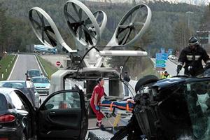 超酷无人机有望应用于救护领域