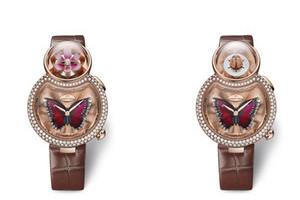 雅克德罗 优雅8 花之韵(Lady 8 Flower)腕表
