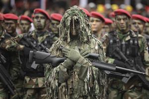 阅兵原来还可以这样 看世界各国军队阅兵式