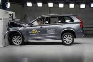 沃尔沃全新XC90创Euro NCAP最新高分