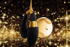 LELO莱珞献上年末好礼 24k奢华情趣纯金按摩器
