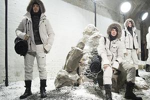 2016伦敦秋冬男装周Belstaff秀场后台