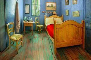 体会油画中世界  梵高卧室复刻版网上叫价