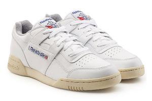 裸色橡胶鞋底的经典复古运动鞋