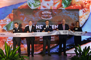 HMSHost国际集团旗舰品牌Bistrot百鲜拓中国首家门店在上海百联世纪购物中心正式开业