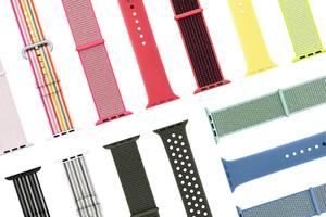 手腕也有满园春色 Apple Watch表带演绎缤纷配色和风格
