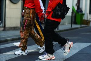 2019年6月巴黎男装周街拍DAY1——2