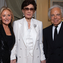 Ralph Lauren: A Much-Lauded American In Paris-Suzy Menkes专栏